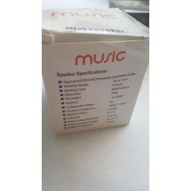 Ηχείο με Bluetooth σύνδεση για να ακούτε μουσική ή τον συνομιλητή σας από το κινητό με υποδοχές USB-TF CARD