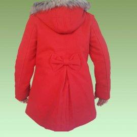 Παιδικό παλτό ζεστό για κορίτσια Μεγέθη 2 έως 14 ετών σε διάφορα χρώματα