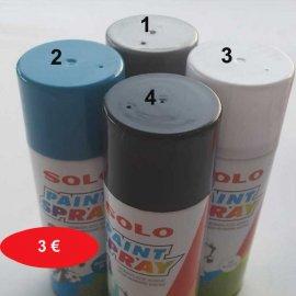 Σπρέι βαψίματος 400 ml σε διάφορα χρώματα