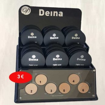 DEINA Dream Powder δίνει λάμψη στο πρόσωπο.