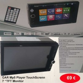 CAR Mp5 Player TouchScreen 7 TFT Monitor
